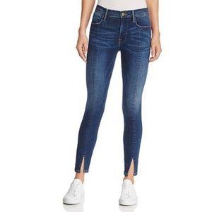 """FRAME """"Le High"""" Jeans - Split-Front Hem"""